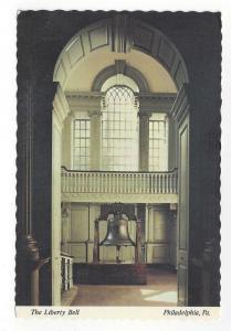 Philadelphia PA Liberty Bell Independence Hall 1976 Postcard