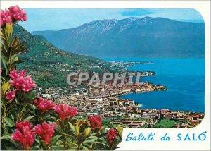 Modern Postcard Lake Garda Salo