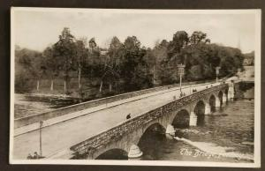 Mint Vintage Ireland The Bridge Fermoy County Cork Real Picture Photo Postcard