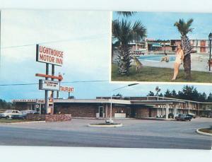 Lighthouse Motel And Miller'S Restaurant Manning South Carolina SC L1557-12