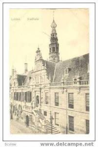 Leiden, Netherlands, 1890s  Stadhuis