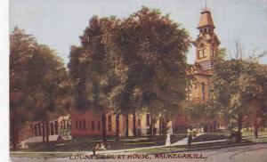 Exterior,  Courty Court House, Waukegan,  Illinois,  PU-1908