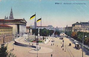 Parlament Mit Franzensring, Wien, Austria, 1900-1910s