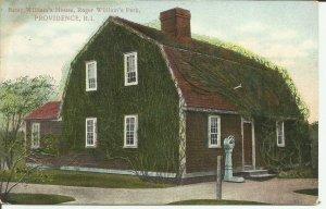 Providence, R.I., Betsy William's House, Roger William's Park