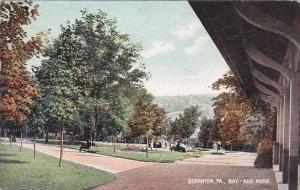 Pennsylvania Scranton Nay Aug Park 1909