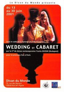 Wedding et Cabaret - Divan Du Monde