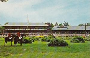 A View From The Spacious Infield Towards The Historic Stands At Saratoga New ...