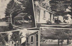 ASHLEY FALLS , Massachusetts, 1930s ; Pine Acres Cabins