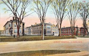 ALBANY NEW YORK~CITY HOSPITAL POSTCARD 1910s