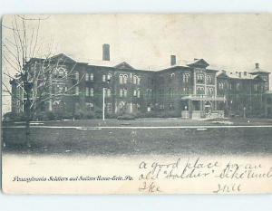Pre-1907 BUILDING Erie Pennsylvania PA A0575
