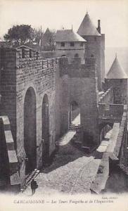CARCASSONNE, Les Tours Visigotha et de l'Inquisition, Aude, France, 00-10s