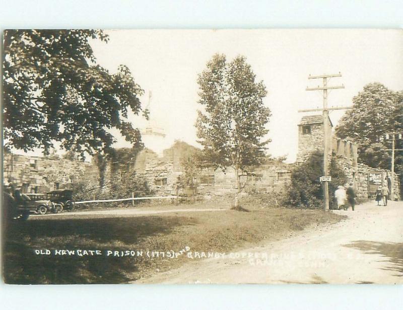 old rppc NEWGATE PRISON Granby - Near Windsor Locks & Hartford CT i6614