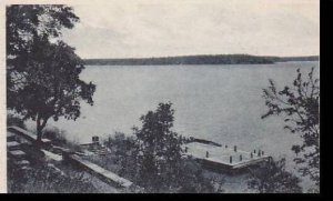 Texas Brownwood The Boat Dock At Brownwood State Park Albertype