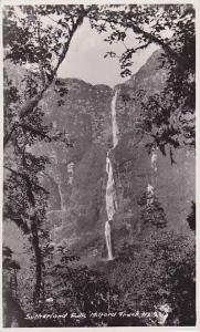 RP: Sutherland Falls, Milford Track , New Zealand, 00-10s