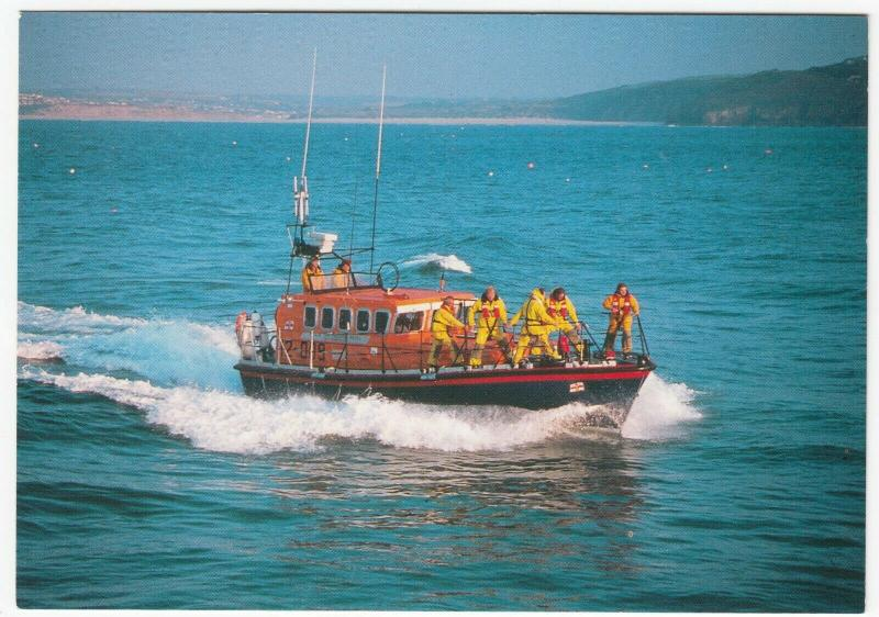 St Ives RNLI 'Mersey' Class Lifeboat No 12-019 'Princess Royal' PPC Unposted