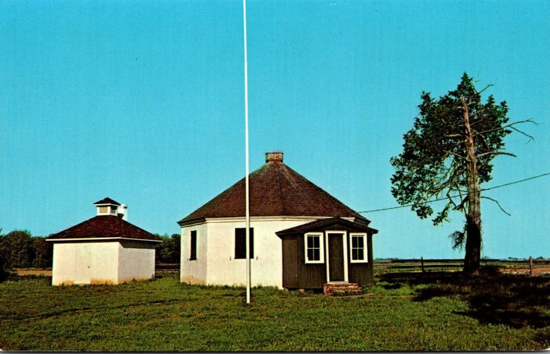 Delaware Dover Octagonal School House On Route 9