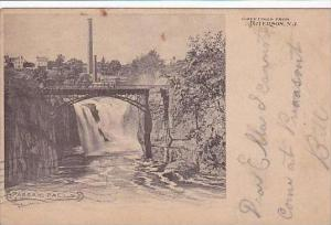 New Jersey Paterson Greeetings from Paterson Passaic Falls