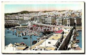 Old Postcard Algeria Algiers General View of the center of town