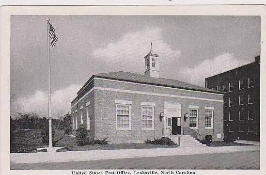 North Carolina Leaksville United States Post Office