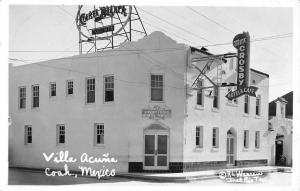 Coahuila Mexico Villa Acuna Real Photo Antique Postcard K60299
