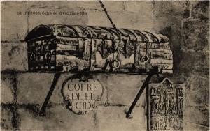 CPA Espagne BURGOS - Cofre de el Cid Siglo XI (304529)