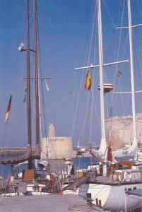 Girne (Kyrenia) Limani , Kıbrıs (Cyprus) , 60-70s : Harbour #3