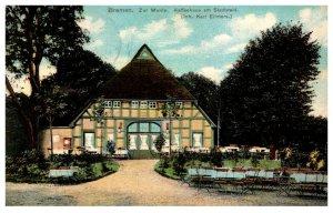 Germany Bremen Zur Munte Kaffeehaus am Stadwald