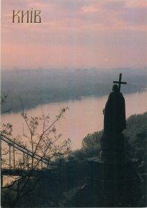 Postcard Ukraine Kiev Sculpture Statue Monument to Prince Vladimir 1853