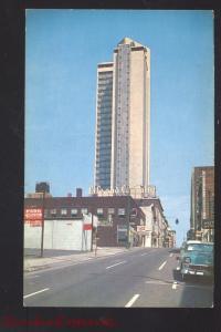NASHVILLE TENNESSEE NASHEVILLE'S TALLEST BUILDING 1950's CARS POSTCARD