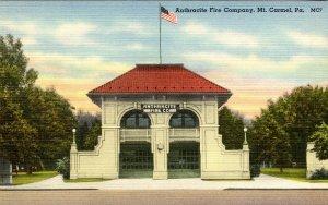 PA - Mt Carmel. Anthracite Fire Company