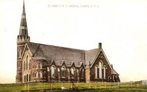 Prince Edward Island ~ St. Mary's R.C. Church, SOURIS - DB