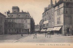 VESOUL , France , 1900-10s ; La Place du Palais de Justice