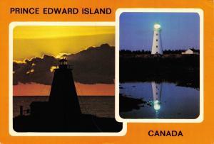 Vintage 1981 Postcard Lighthouse, Prince Edward Island, Canada #257