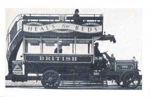 Nostalgia Postcard Advertising, Publicity Bus 1926 Reproduction Card NS49