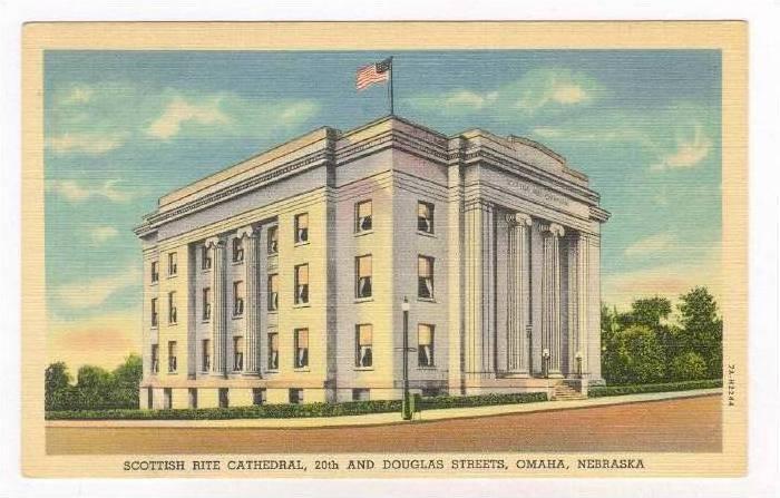 Scottish Rite Cathedral, Omaha , Nebraska, 30-40s