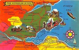 Postcard Post Card The Kingdom of Fire, Kinross