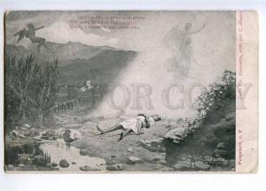 189774 DANTE Purgatory DEVIL ANGEL by SENNO Vintage ALTEROCCA