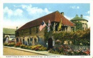 Oldest House - St Augustine, Florida FL