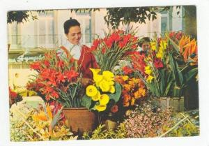 Venta De Flores, Selling Flowers, Funchal (Madeira), Portugal, 1950-70s