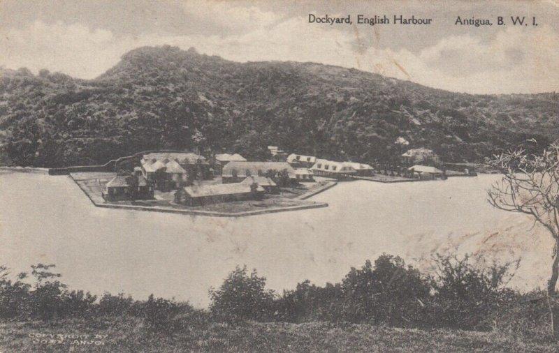 ANTIGUA , B.W.I. , 00-10s ; Dockyard , English Harbor