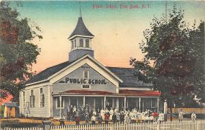 Pine Bush NY Public School Children Postcard