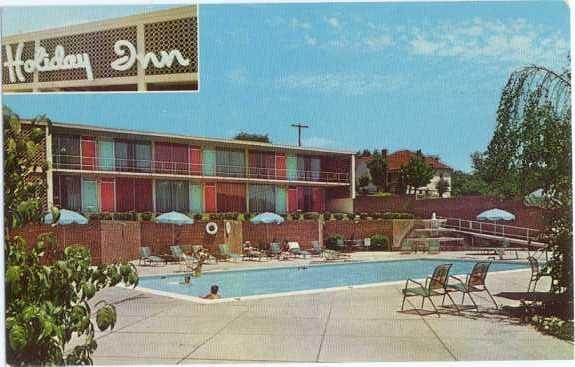 Holiday Inn of Bristol, Virginia,VA, Hwys, 11W, 58, 421, & Fed. 81, Chrome