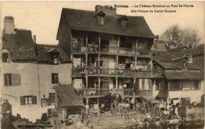 CPA RENNES - Le Chateau Braniant au Pont St-Martin dite Maison de... (356886)