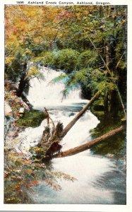 Oregon Ashland Ashland Creek Canyon