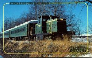 Trains Stewartstown Railroad Locomotive Number 10