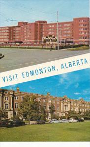 Canada Hospital and Arts and Sciences Building University Of Alberta Edmonton...