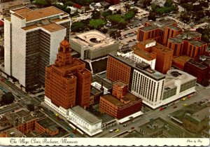 Minnesota Rochester Aerial View The Mayo Clinic