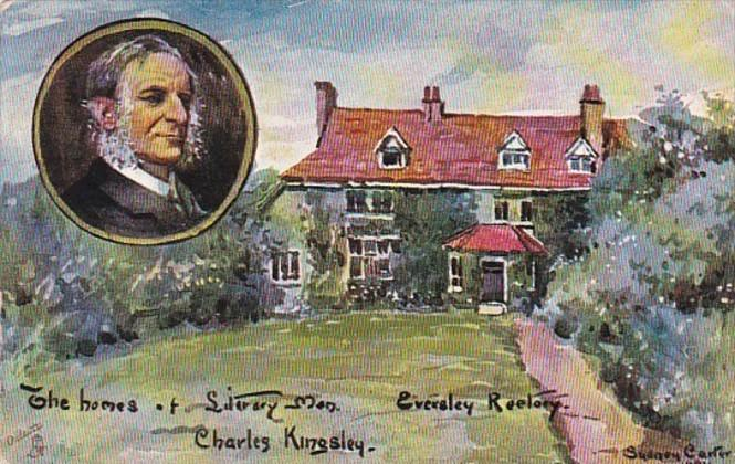 Charles Kingsley The Homes Of Literary Men 1909 Tucks