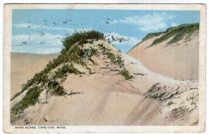 Cape Cod, Mass, Sand Dunes