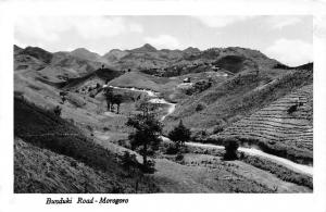 German East Africa Tanzania Morogoro - Bunduki Road, Postcard